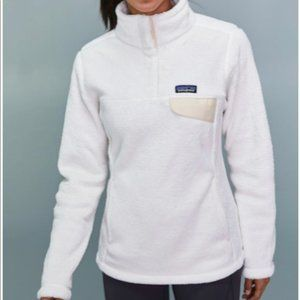 Patagonia Retool Snap T Pullover White M
